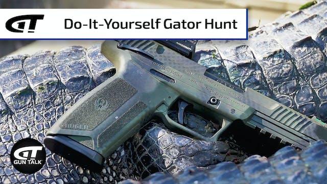 Chasing Alligators in Louisiana