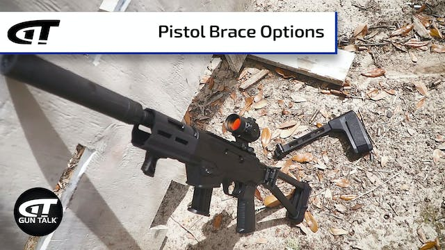 Options for AR Pistol Braces