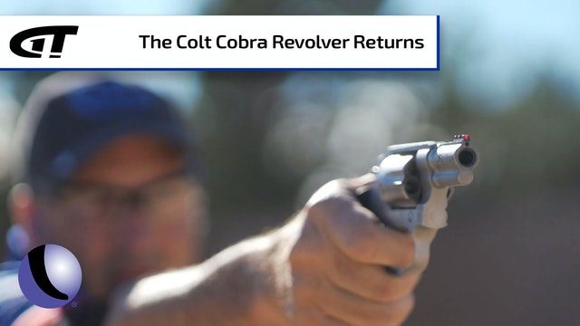 Running the Wizzard Drill with a Six-Shot Colt Cobra Revolver