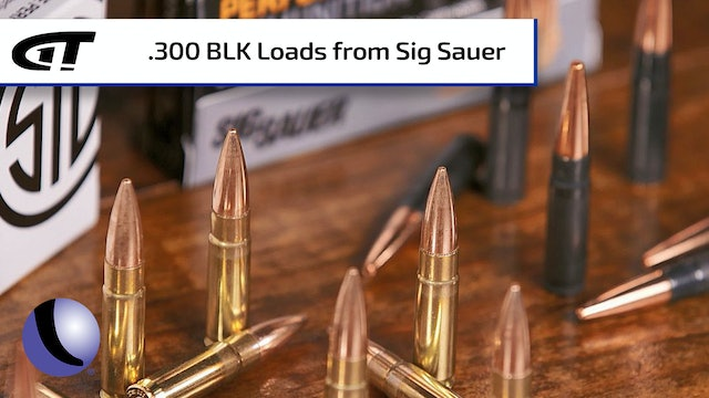 Sig Sauer Sub-Sonic and Super-Sonic .300 BLK Ammo