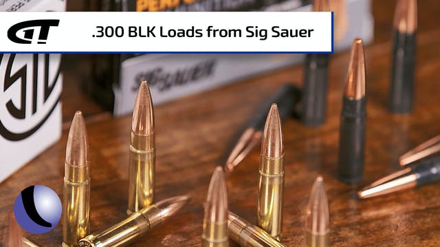 Sig Sauer Sub-Sonic and Super-Sonic ....