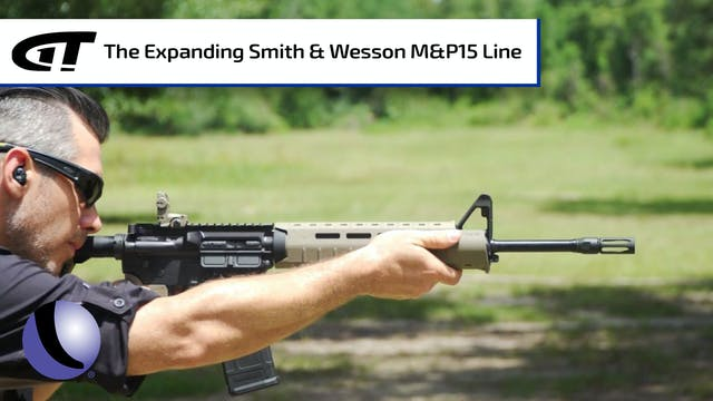 Additions to the Smith & Wesson M&P15...
