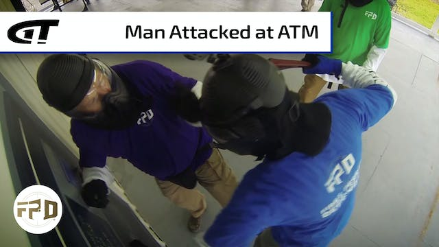 Man Shoots Attacker at ATM