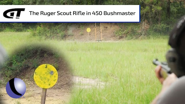 Ruger's Scout Rifle in 450 Bushmaster