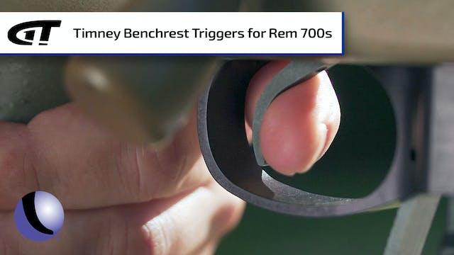 Remington 700 Benchrest Trigger - Sho...