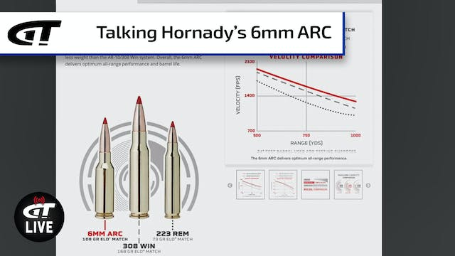 Hornady 6mm ARC; Riot Tactics; Gear t...