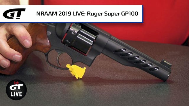 Ruger Super GP100 Revolver, Youth Com...