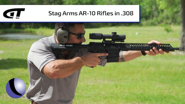 Stag Arms 10 and 10S AR10 Rifles in .308