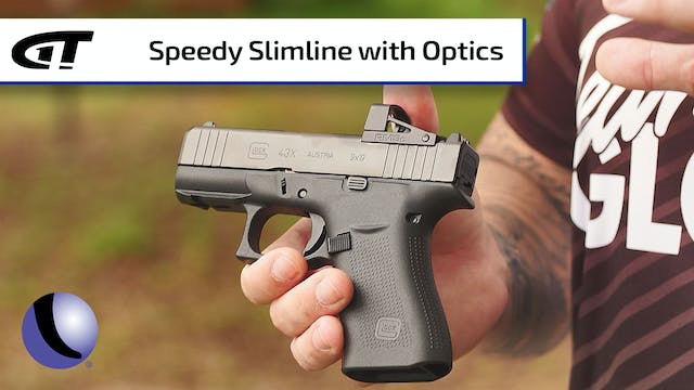 Optics-Ready GLOCK Slimline G43x, G48
