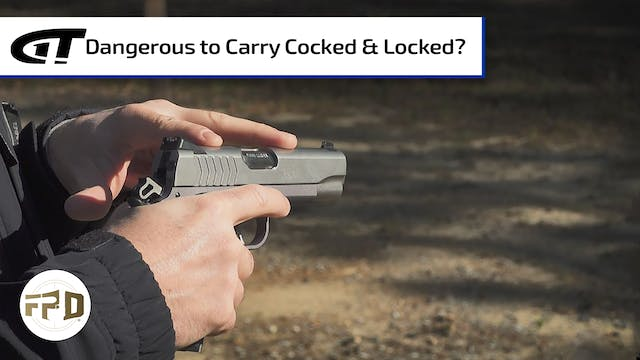 Is It Dangerous to Carry a 1911 Cocke...