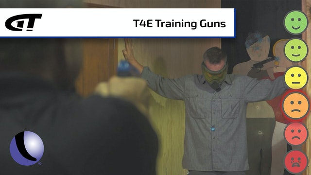 T4E Rifles, Pistols and Ammo for Training