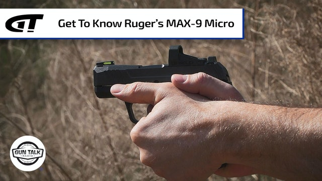 All About the New Ruger MAX-9