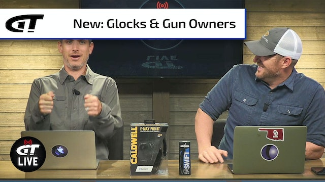 GLOCK Optics-Ready Slimline; 5 Million New Gun Owners | Gun Talk LIVE