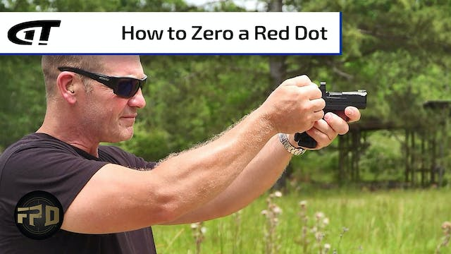 How to Zero a Red Dot