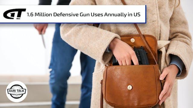 Personal Defense Gun Uses in America