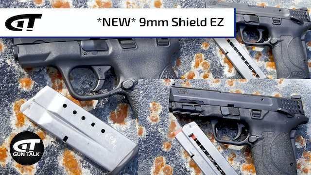 Smith & Wesson Shield Options, Including the New 9mm EZ