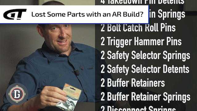 Extra Parts Kit for AR Builds