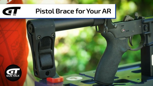 How (and Why) To Add a Pistol Brace to Your AR Armorer's Bench