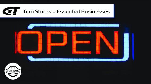 DHS Declares Gun Stores Essential; Cu...