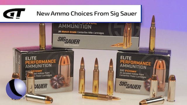 SIG Rifle Ammo, made with SIG Brass and Bullets