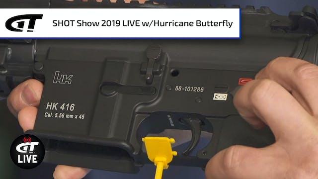 Hurricane Butterfly Semi-Auto HK 416