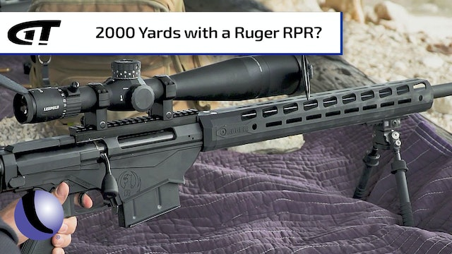 A 2,000 Yard Shot with Ruger's RPR Magnum