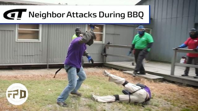 Backyard BBQ Baseball Bat Attack