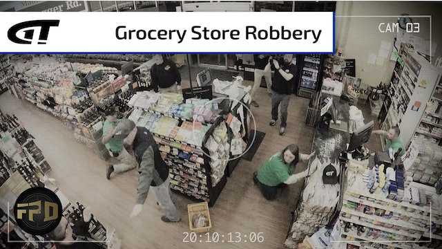 Grocery Store Robbed at Gun Point