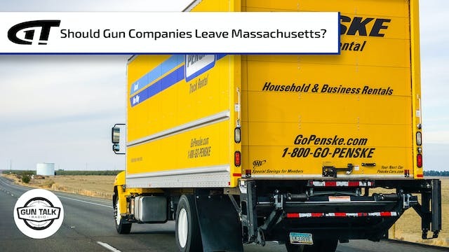 Should Gun Companies Move Out of Mass...