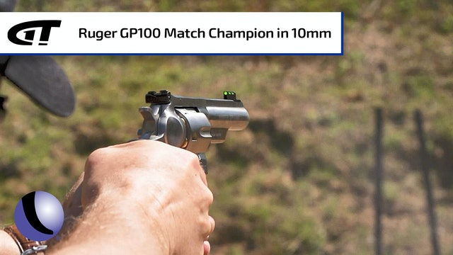 Ruger GP100 Match Champion Revolver in 10mm