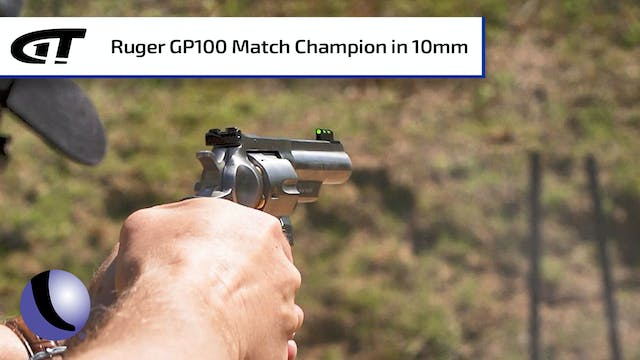 Ruger GP100 Match Champion Revolver i...