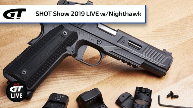 Interchangeable Optic System, Firehawk 1911 from Nighthawk Custom