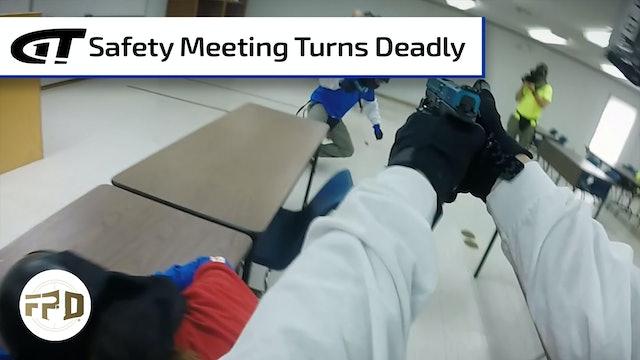 Disgruntled Employee Shoots Up Meeting