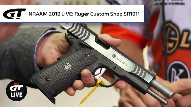 Ruger's Custom Shop SR1911 Competition Gun
