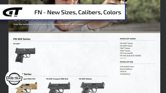 New Guns from FN America