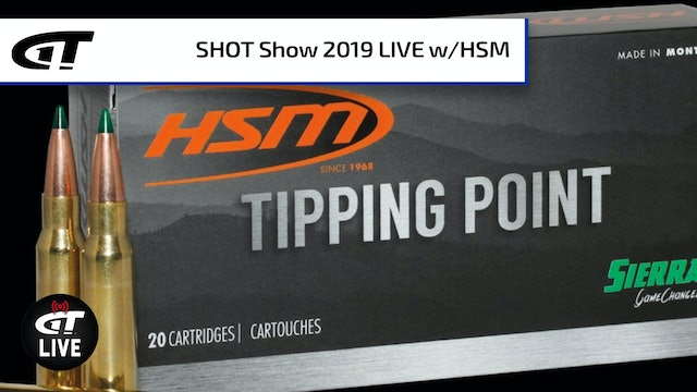 HSM's Tipping Point Hunting Ammo