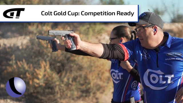 Colt Gold Cup - Ready to Compete