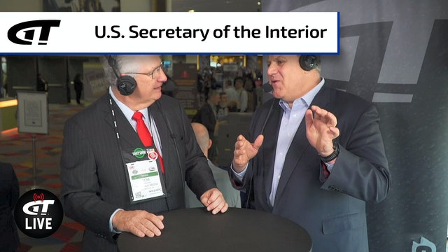 U.S. Secretary of Interior David Bernhardt LIVE