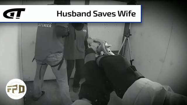 Man Saves Wife Attacked at Party