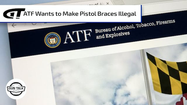 ATF and Pistol Braces – Comment Now!