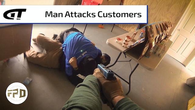 Enraged Man Attacks Store Customers
