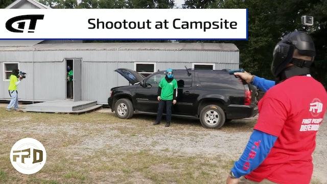 Gun Fight at Fishing Camp