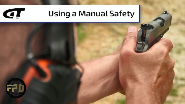When to Engage a Manual Safety