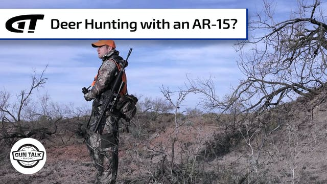 Deer Hunting with an AR-15