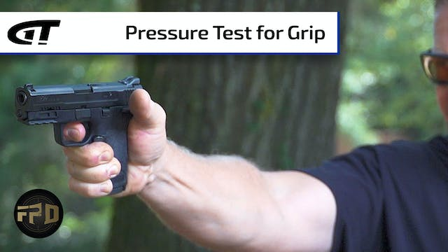 Good Grip Pressure for Shooting
