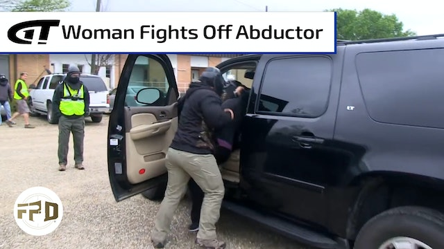 Woman Thwarts Parking Lot Abduction