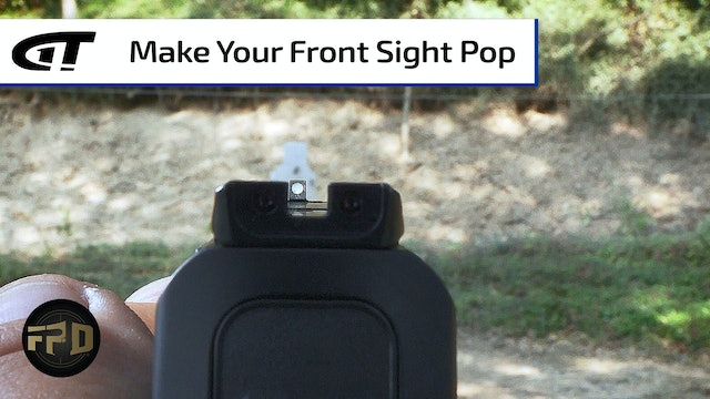 Easily Acquire Your Front Sight
