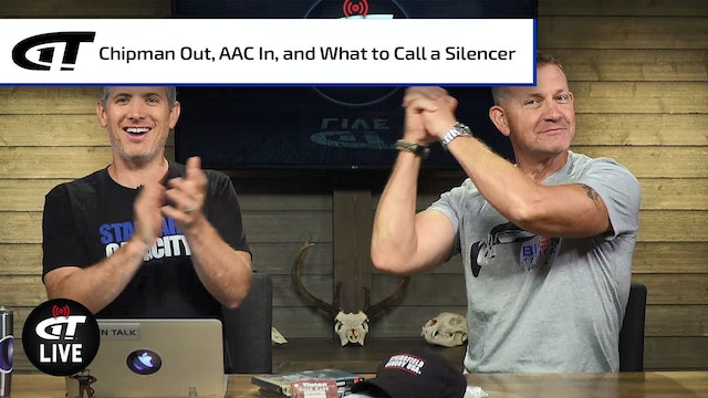 Chipman is Gone, AAC is Back, and the Great Silencer Name Debate