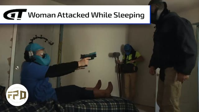Sleeping Woman Attacked in Bedroom