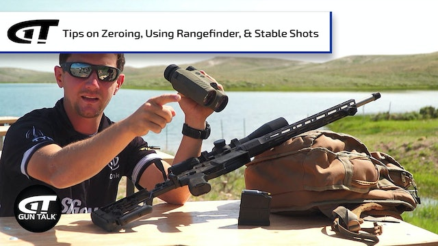 Importance of Having a Good Zero, and Other Shooting Tips